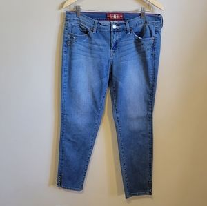 Lucky Brand Charlie Skimmer Jeans size 12